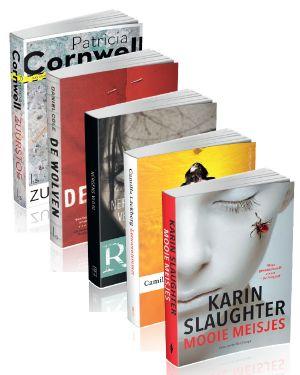 Pakket van 5 thrillers