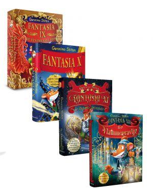 Pakket Fantasia IX - XII, Geronimo Stilton