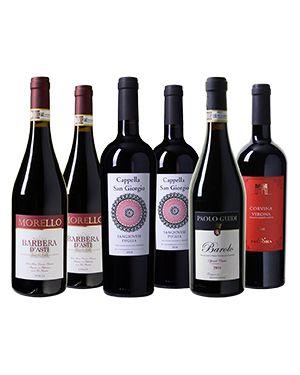 Italiaanse Koningsdruiven Wijnpakket (6 fl)