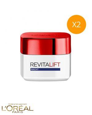 2 x nachtcrème Revitalift Classic