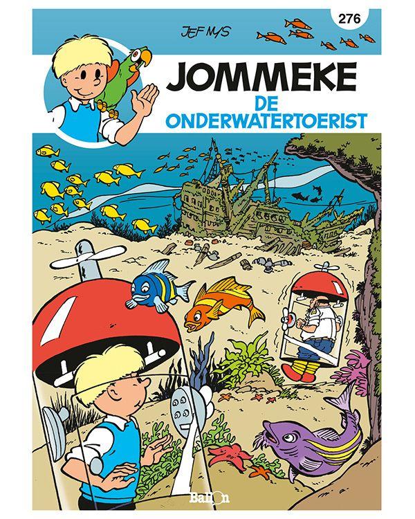 De onderwatertoerist