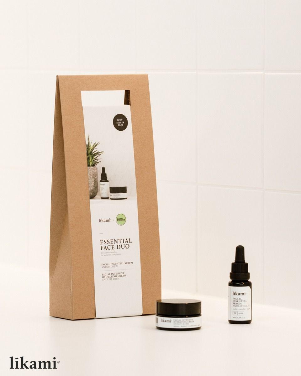 Set gezichtscrème en -serum Likami