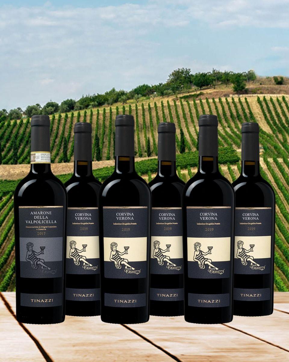 Corvina Amarone pakket - Italië