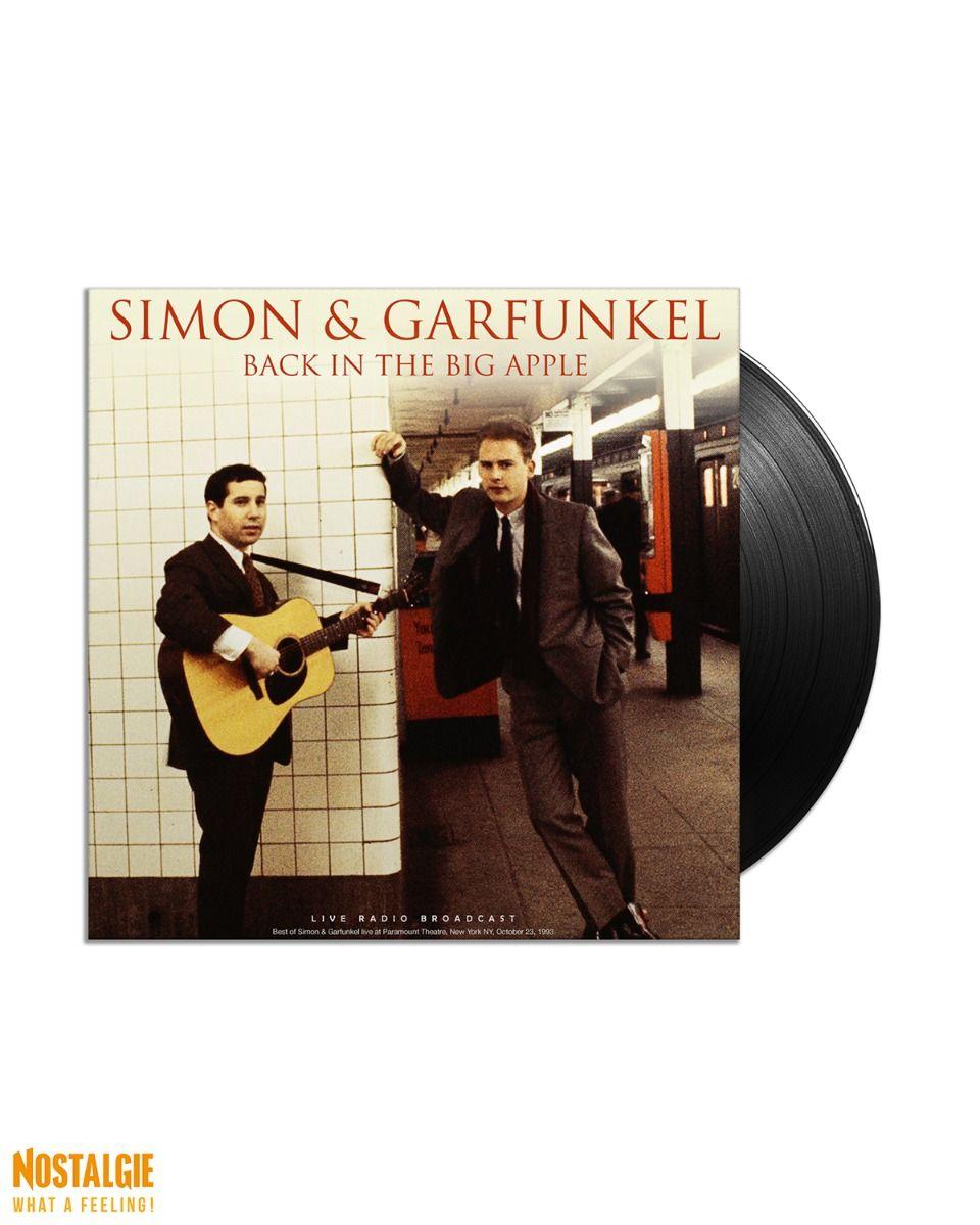 Lp vinyl Simon & Garfunkel - Back in the Big Apple 1993 Live
