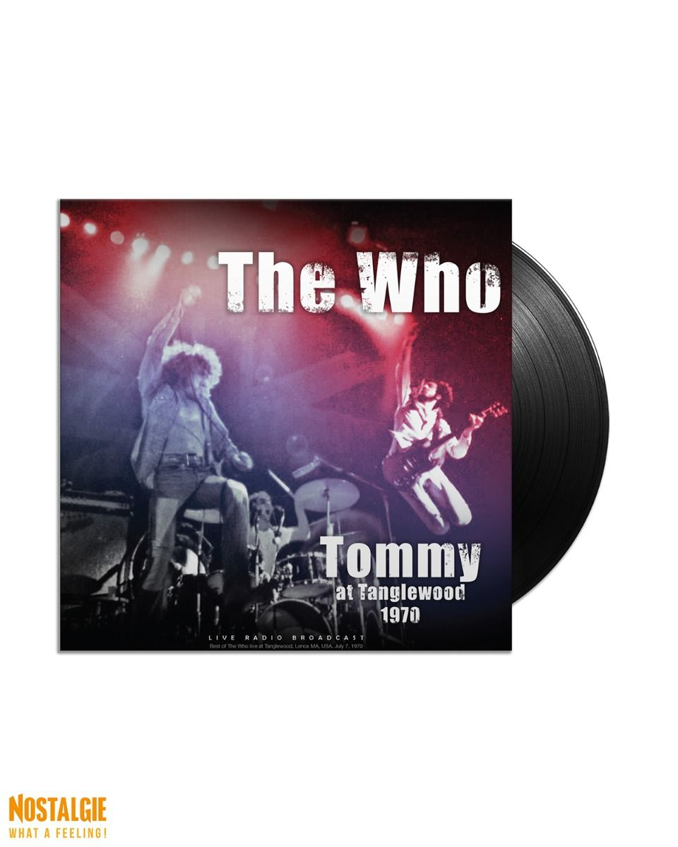 Lp vinyl The Who - Tommy at Tanglewood 1970 Live